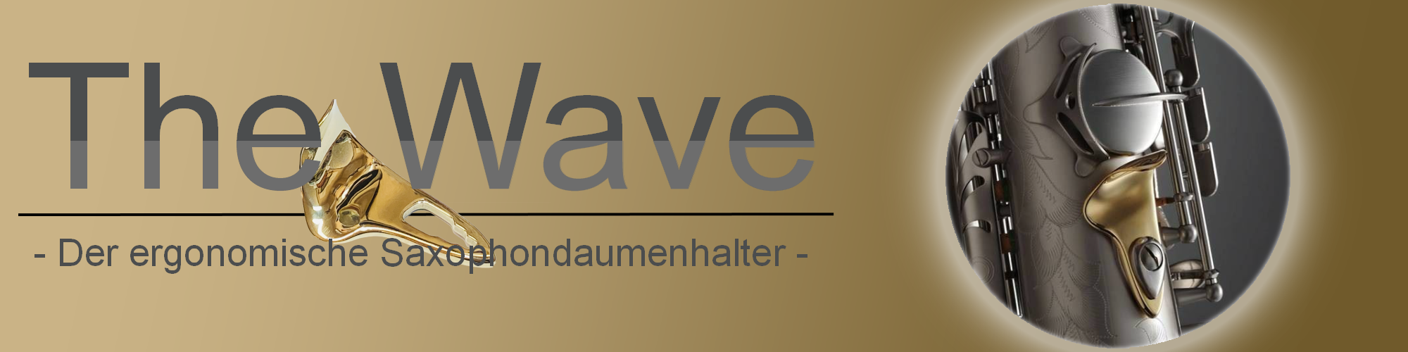 The Wave Daumenhalter Saxophon